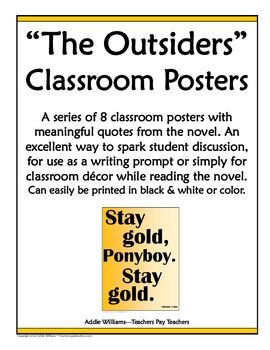 the outsiders writing prompts All prompts are always free to use you do not need to ask permission or give credit if you use any of the prompts posted here to inspire your writing.