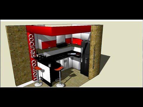 integrales   villavicencio : puerto gaitan  cocina blanca y rojo