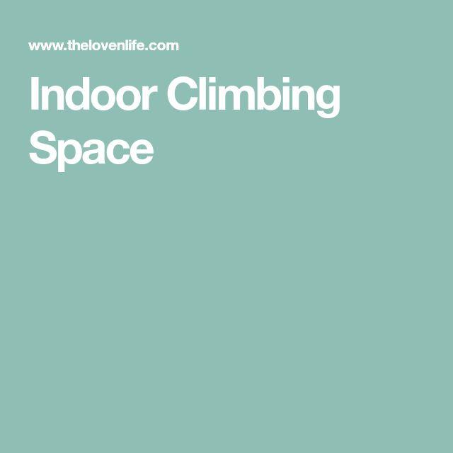 Indoor Climbing Space