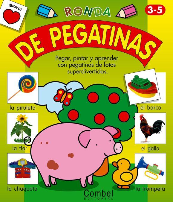 RONDA DE PEGATINAS Cuadernos de actividades variadas para pintar, aprender el vocabulario básico pintando los dibujos y completando con pegatinas. 16 páginas. Recomendado para más de 3 años Medidas aproximadas: 24 x 28 cm PVP: 4,20 € #manualidadesinfantiles #pegatinas #manualidadesparaniños http://www.babycaprichos.com/ronda-de-pegatinas.html