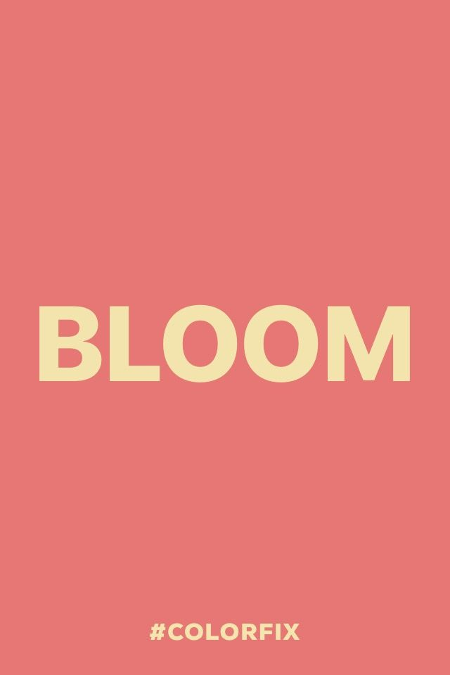 Bloom.  #madewithover