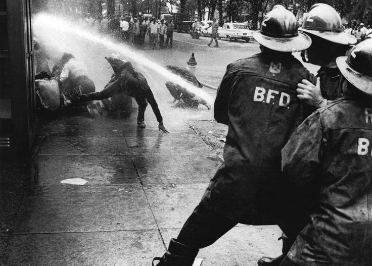 Firefighters turn their hoses full force on civil rights demonstrators in Birmingham, Alabama, on July 15, 1963. 50 Years Ago: The World in 1963 - In Focus - The Atlantic