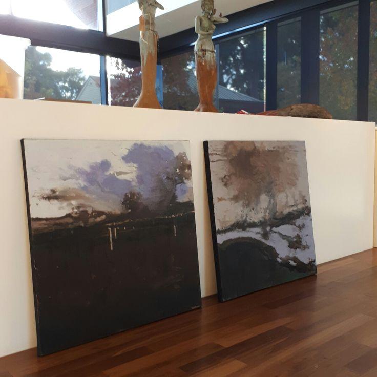 Mixed Media Paintings. By Nidia Hansen