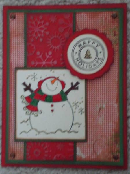 Country Snowman Cards Snowman Warm Amp Cold PB