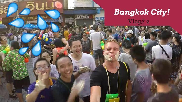 Bangkok City! |Vlog #2 (Songkran, Khaosan road, Night life)