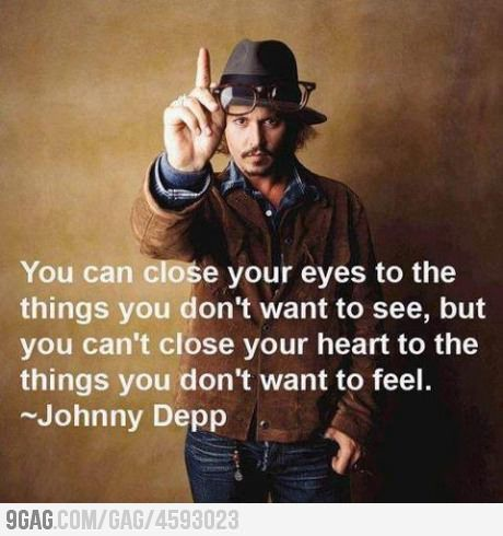 it's true.. no matter how hard it is you can't close your heart