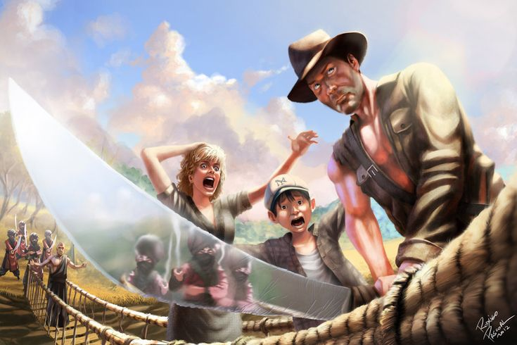 Indiana Jones and the Temple of Doom - fan art by ~superpascoal on deviantART