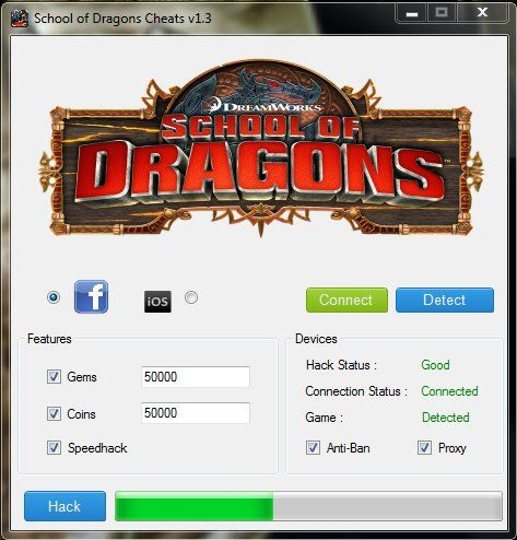 school of dragons cheats