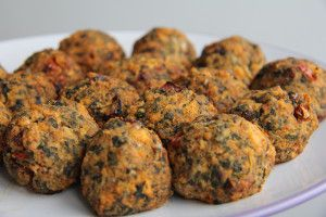 Spinach and Tofu Balls