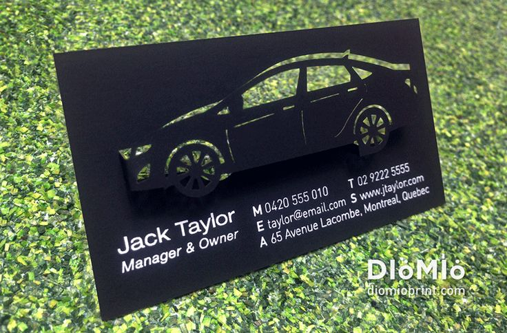 Car Sales Business Cards - DioMioPrint