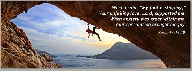 Psalm 94:18,19