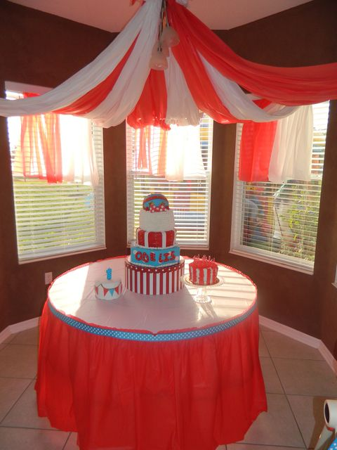 "Photo 4 of 77: Carnival/Circus / Birthday ""Baby O's First Birthday Circus Extravaganza"" 