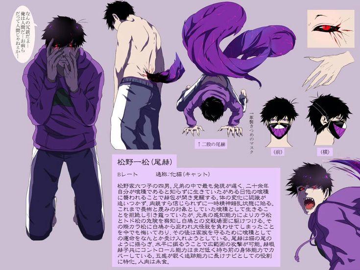 Osomatsu-san/Tokyo Ghoul crossover | Ichimatsu