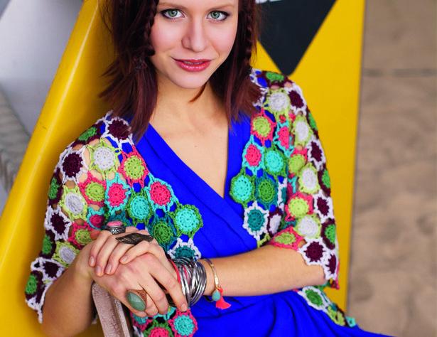 Летний жакет из цветных мотивов - Почта Mail.Ru