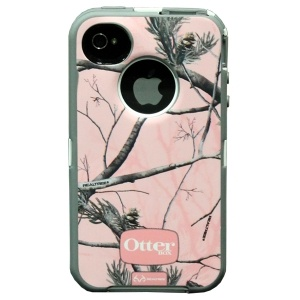 Realtree OtterBox Pink Camo Case for iphone 4/4S My new phone case!!