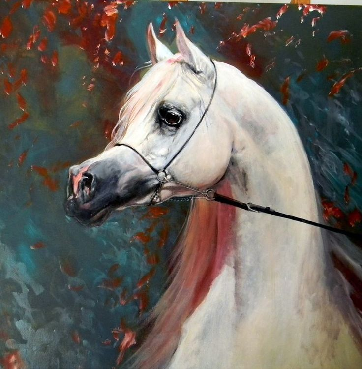 Judi Kent Pyrah is one of UK's leading Equestrian Artists. Her ability to capture the movement and power and attitudes of her subjects has made her a much sought after arab horse painter.
