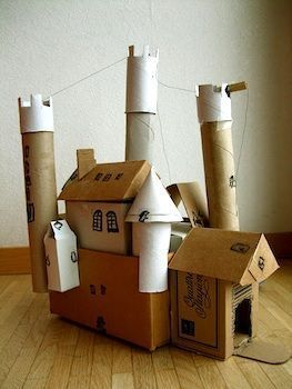 The Crafty Crow: a children's craft collective - building projects from recyclables