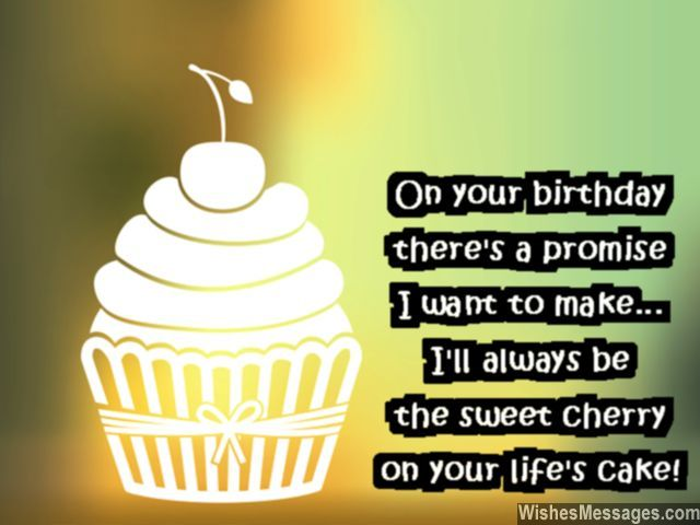 Sweet birthday wishes for boyfriends greeting card