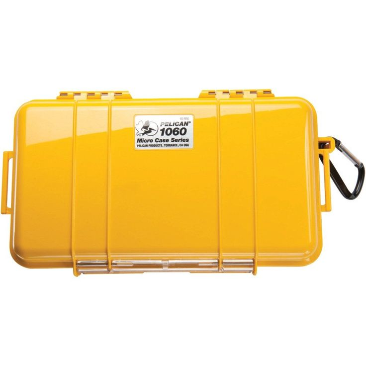 Pelican 1060 Micro Case (yellow And Solid) – USMART NY