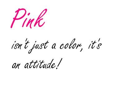 Quotes About The Color Pink. QuotesGram