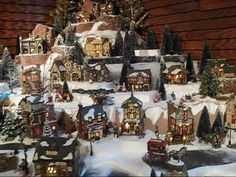 christmas village display ideas - Yahoo Image Search Results