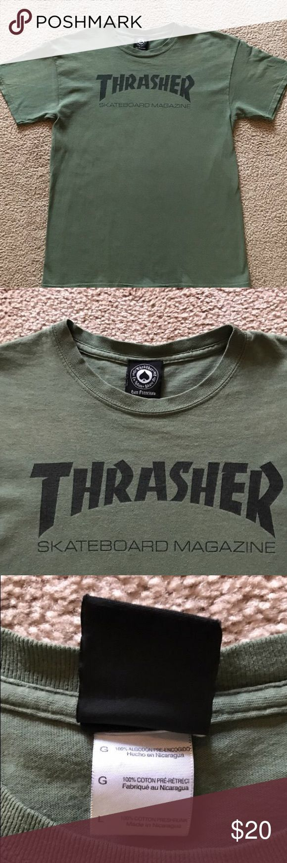 Thrasher mag t shirt Worn and washed multiple times  No flaws thrasher Shirts Tees - Short Sleeve