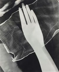 Photogram of Hand by  Man Ray