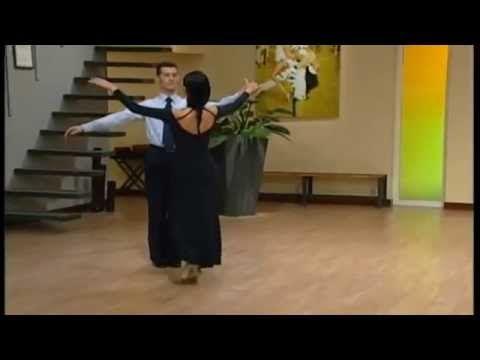 18 Passi Valze Inglese   Presenta Alessandra Con Paolo Bosco & Silvia Pitton - YouTube