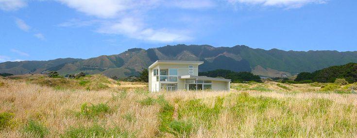residential architecture peka peka beach house