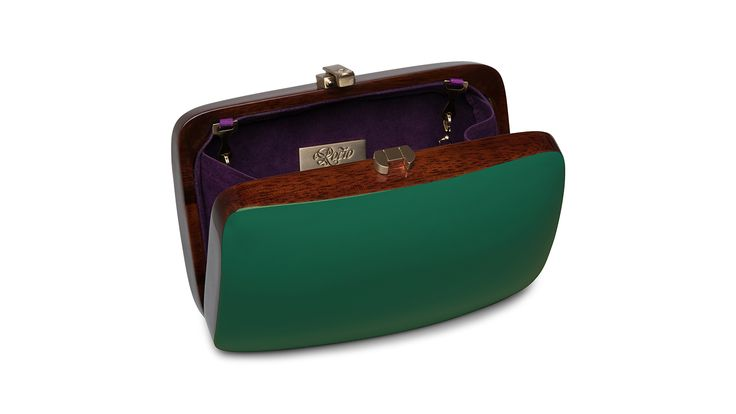 Rio Clutch_DarkGreen