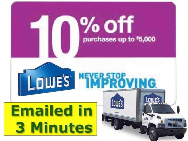 Lowe's coupons in various percentages available on eBay -- confirmed by friend that this works.  May be able to redeem at Home Depot as well.