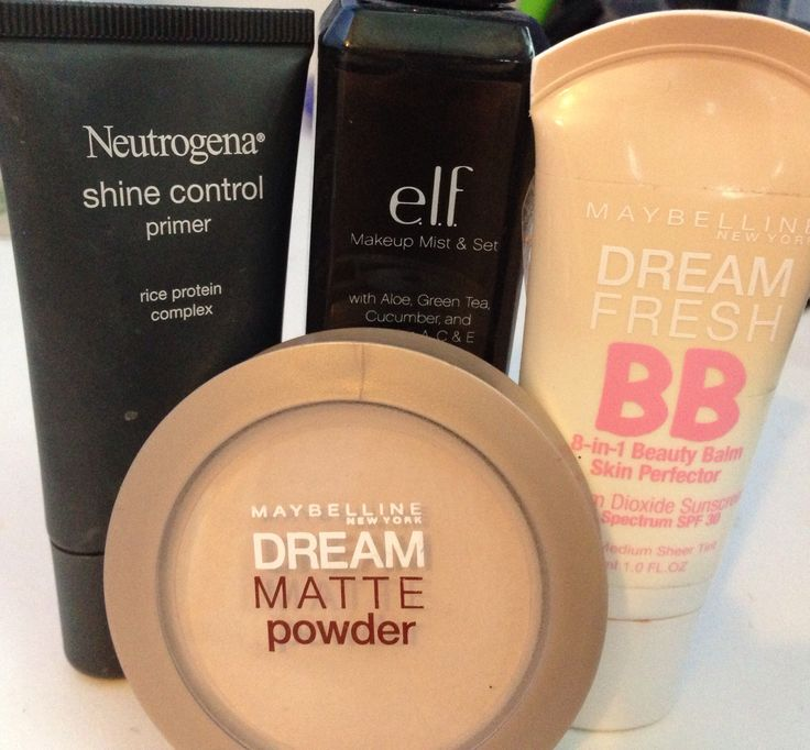 Perfect Summer drugstore sweat proof  face!