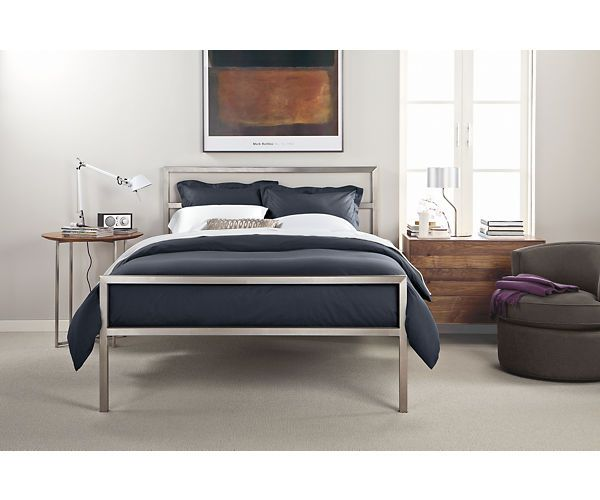 Hudson Dressers With Steel Base Chamber Pinterest Bed Bedroom And Modern Furniture