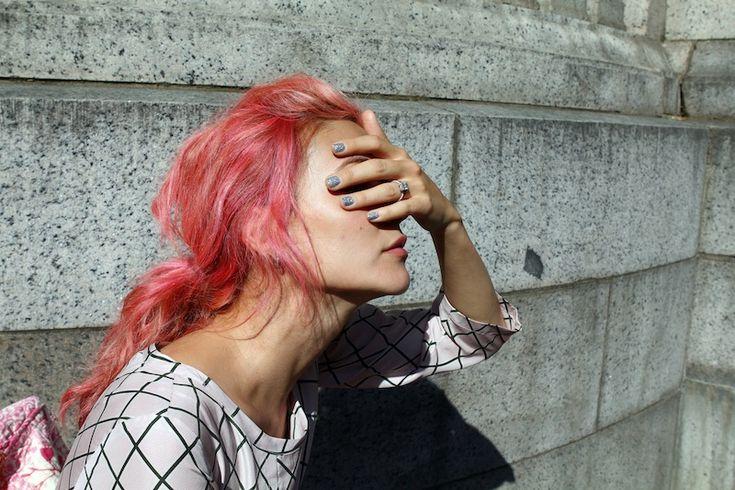 Silver Glitter, Hair Colors, Pink Hair, Pinkhair, Glitter Nails, Cotton Candies, Cynthia Mittweg, Pink Eyeshadow, Colors Hair
