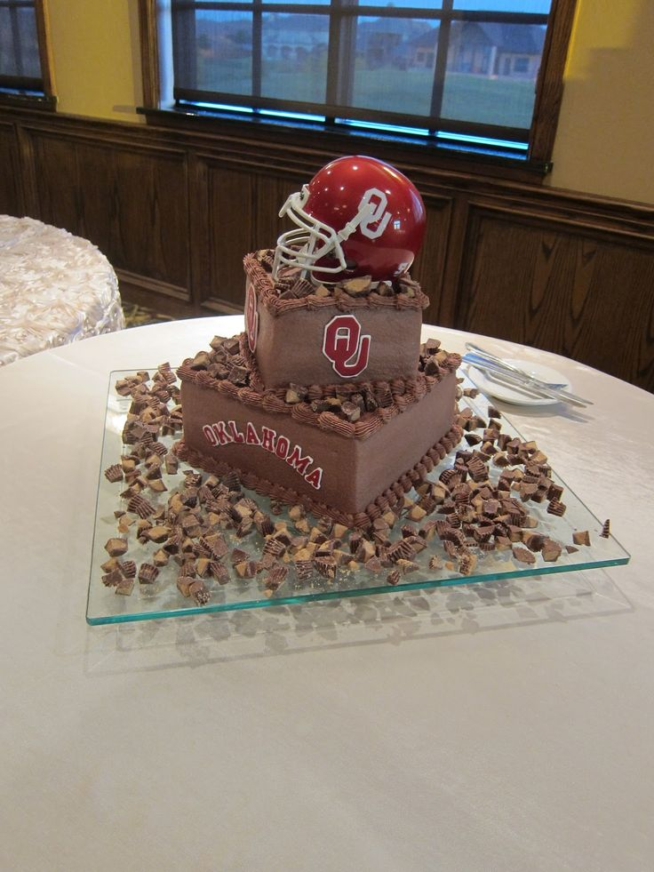 Ou Sooner Cake Just Had To Show You The Groom S Cake
