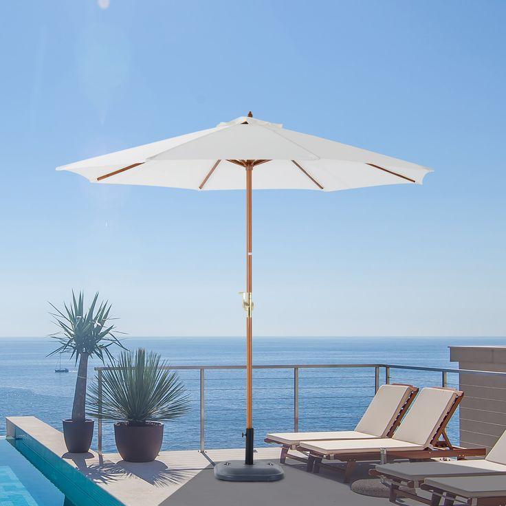 Die besten 25+ Sonnenschirm für balkon Ideen auf Pinterest - gestaltungstipps terrasse im garten