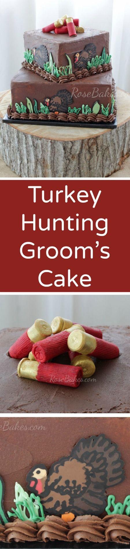 Turkey Hunters Groom's Cake