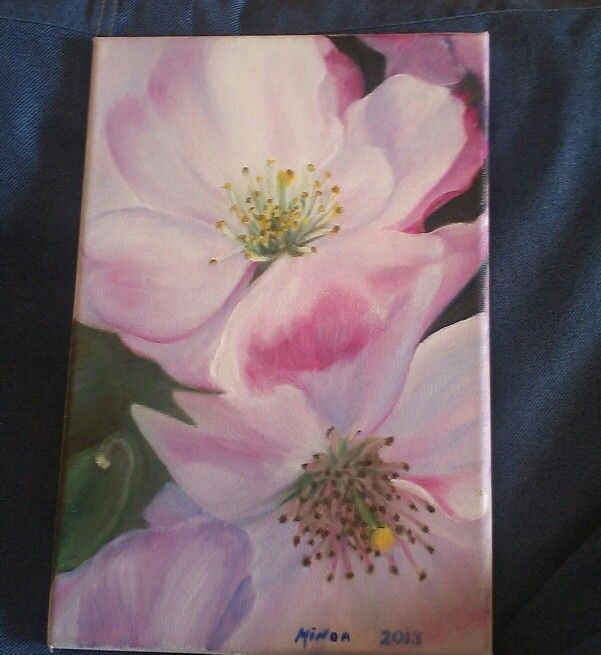 Another beautiful flower painting...