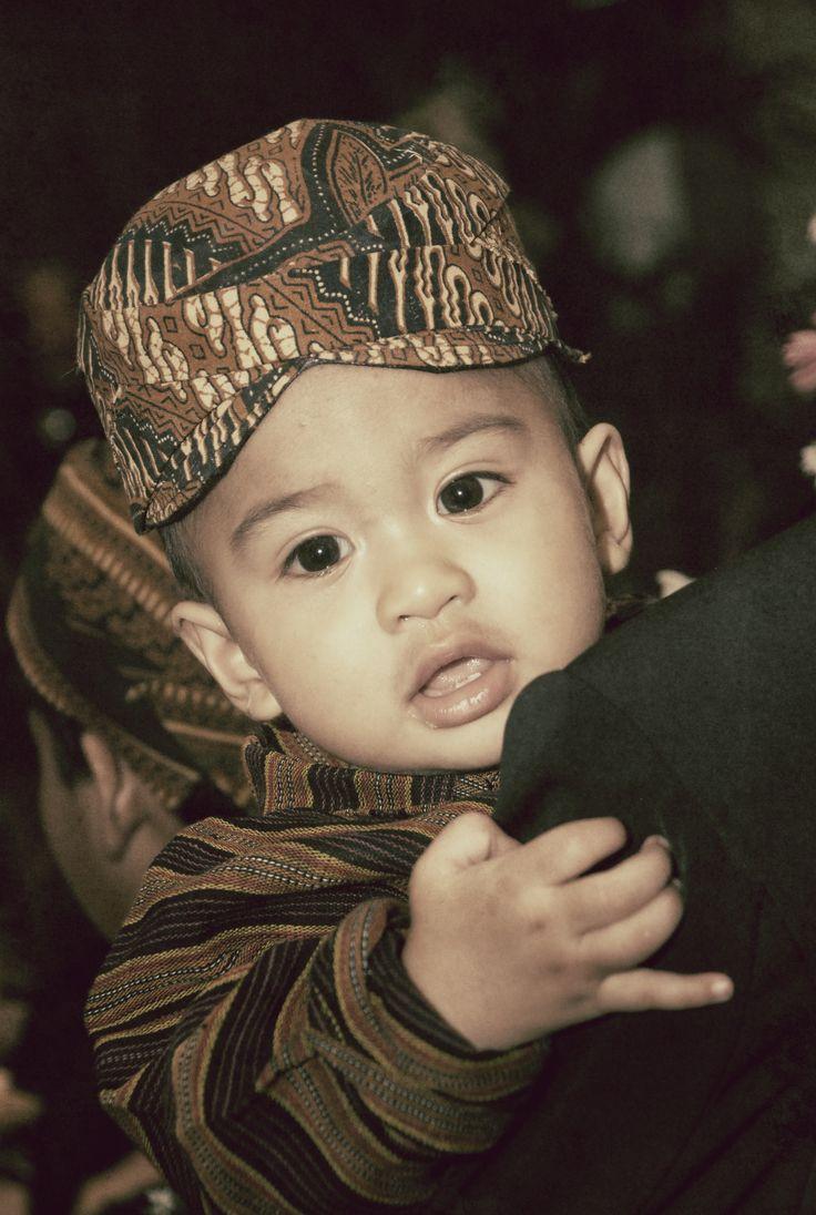 Baby with blangkon