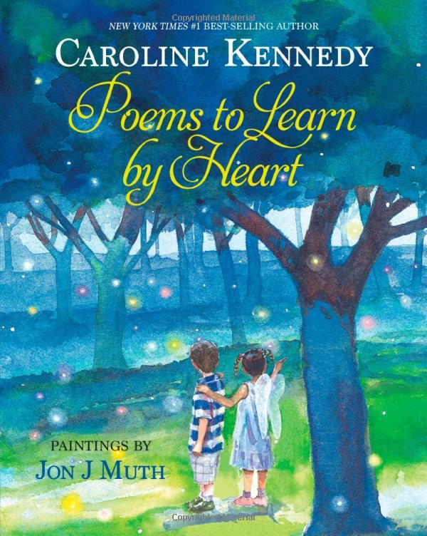 Poems to Learn by Heart: Caroline Kennedy. Illustrated by  Jon J. Muth #Books #Poetry