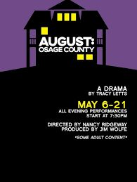 Image result for august osage county playbill