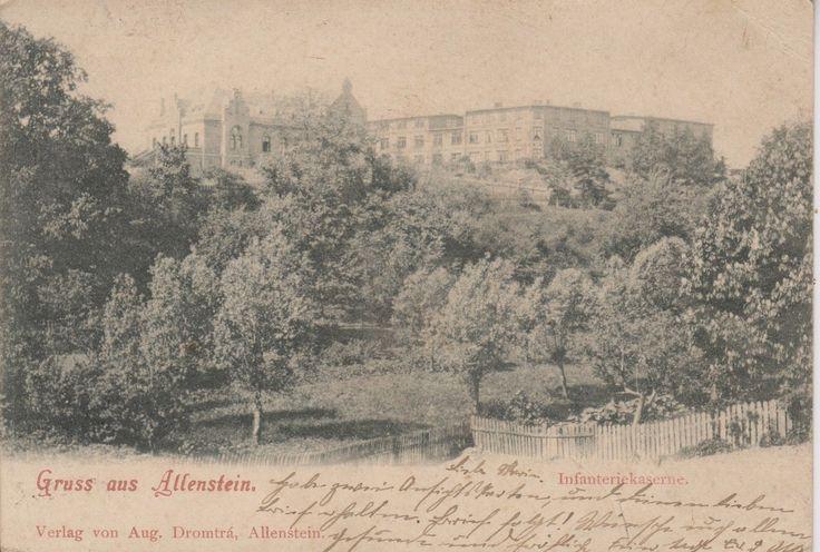 Allenstein-Olsztyn, Ostpreussen 1899  Infanterie Regiment 151