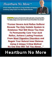 Naturally Getting Rid Of Heartburn