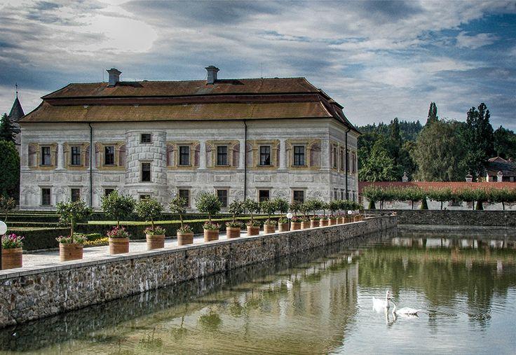 zamek/castle Kratochvíle