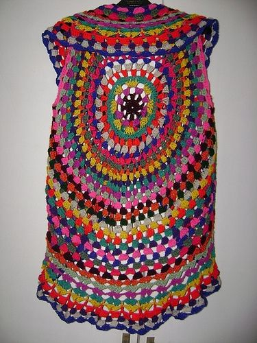 Free Gypsy Vest Crochet Pattern : 1000+ images about BoHo, Gypsy and Hippie Knit and Crochet ...