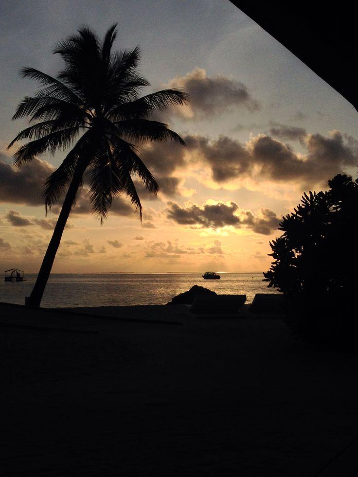 Maldive thudufushi island