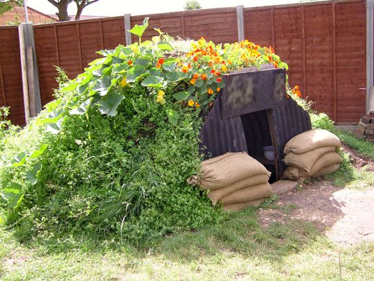 how to build an anderson shelter instructions