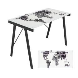 World Map Office Desk/ Drafting Table