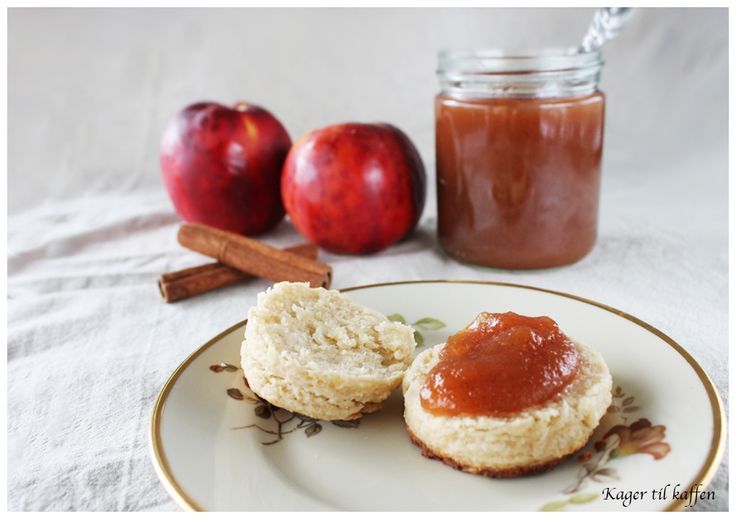 Æblesmør med Vanilje og Kanel