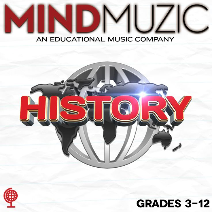 MindMuzic History Album Download with Digital Workbook #history #socialstudies #presidents #government #geography